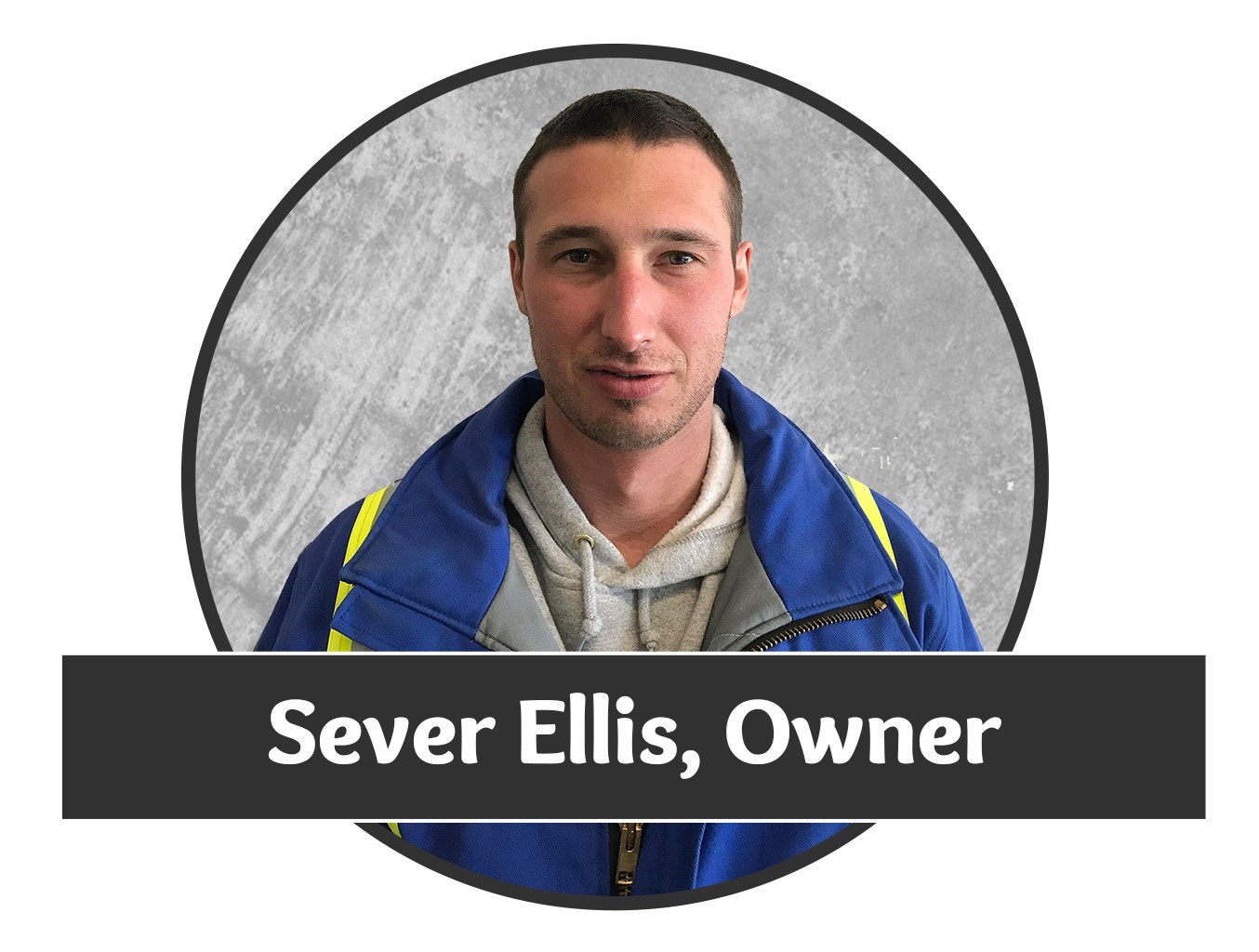 Headshot photo of Sever Ellis, one of the owners for Saskatchewan's superior water well drilling company.