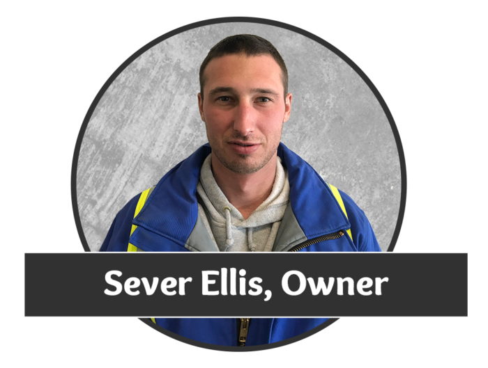 Headshot photo of Sever Ellis, owner of Saskatchewan's superior water well drilling company